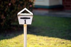 Australian home letterbox Royalty Free Stock Image
