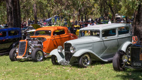 Australian Hot Rods Stock Image