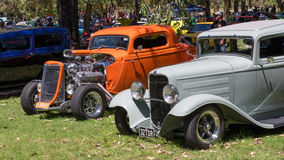 Australian Hot Rods Royalty Free Stock Image