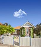 Australian House Home Sky stock photo