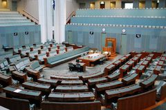 Australian House of Representatives. In Canberra, Australian Capital Territory Royalty Free Stock Images
