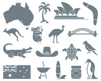 Australian icons Stock Photos