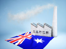Australian industry development Royalty Free Stock Photos