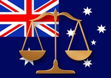 Australian justice Royalty Free Stock Photography