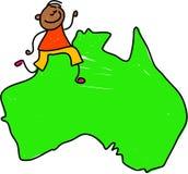 Australian kid Stock Photo