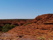The Australian Kings Canyon Stock Image
