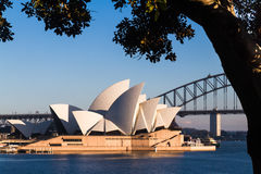 Australian landmark building, the Sydney Opera House. Stock Image