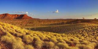 Australian landscape in Purnululu NP, Western Australia Stock Image