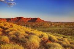 Australian landscape in Purnululu NP, Western Australia Royalty Free Stock Photo