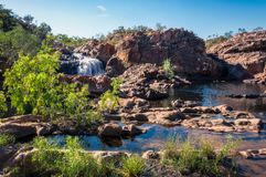 Australian Landscape at Edith Falls, Top End, Australia Royalty Free Stock Photography