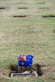 Australian Lawn Cemetery Stock Photography