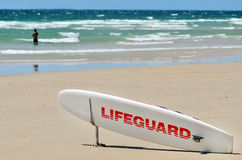 Australian Lifeguards in Gold Coast Queensland Australia Stock Photography