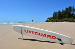 Australian Lifeguards in Gold Coast Queensland Australia Royalty Free Stock Photos