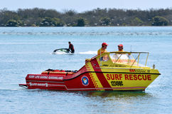 Australian Lifeguards in Gold Coast Queensland Australia Royalty Free Stock Images