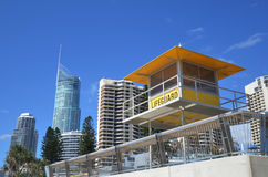 Australian Lifeguards tower Royalty Free Stock Images
