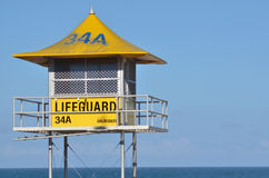 Australian Lifeguards tower Stock Image
