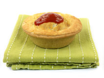 Australian Meat Pie Royalty Free Stock Photography