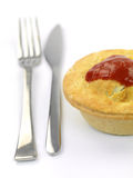 Australian Meat Pie Royalty Free Stock Photos
