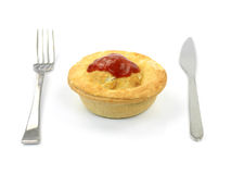 Australian Meat Pie Stock Images