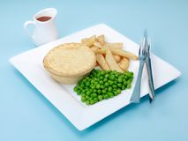 Australian Meat Pie Royalty Free Stock Photo