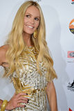 Australian Model Actress Elle Macpherson on the red carpet. At the G'day USA event in Los Angeles Royalty Free Stock Photos