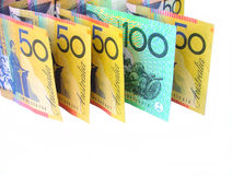 Australian money. Australian notes royalty free stock image