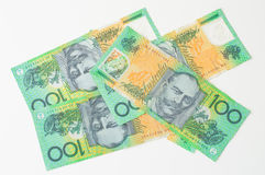 Australian Money - Aussie currency. Background Royalty Free Stock Photos