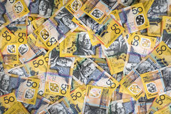 Australian Money Background Extra Large Stock Photo