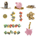 Australian Money Collection Royalty Free Stock Images
