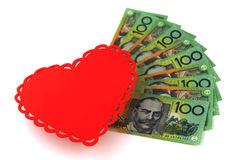 Australian money Stock Photo