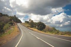 Australian mountain highway Stock Images