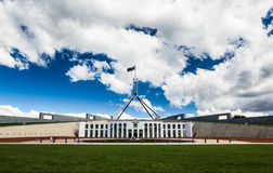 Australian national parliament house in Canberra Stock Photography