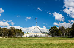 Australian national parliament house in Canberra Stock Image