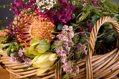 Australian Native Flower Bouquet Royalty Free Stock Image