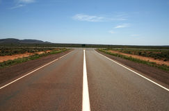 Australian Nullarbor Junction, South Australia Stock Photo
