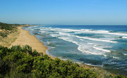 Australian ocean coastline Royalty Free Stock Images