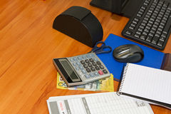Australian Office table Stock Photography