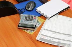 Australian Office table Stock Images