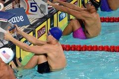 Australian olympian, world champion and record holder Mitch Larkin Stock Photography