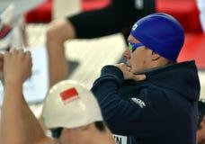 Australian olympian, world champion and record holder Mitchell LARKIN AUS Stock Photo