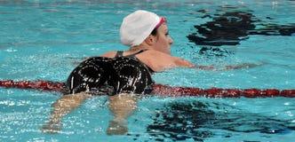 Australian olympian and world champion swimmer Emily SEEBOHM AUS Royalty Free Stock Photography
