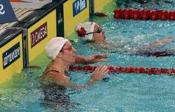 Australian olympian and world champion swimmer Emily SEEBOHM AUS Royalty Free Stock Image
