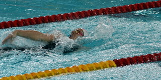 Australian olympian and world champion swimmer Emily SEEBOHM AUS Stock Photography