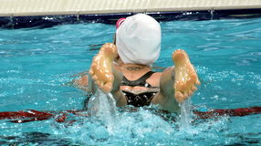 Australian olympian and world champion swimmer Emily Seebohm Royalty Free Stock Image