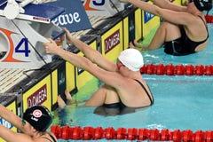 Australian olympian and world champion swimmer Emily Seebohm Royalty Free Stock Photos