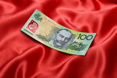 Australian One Hundred Dollar Bill Royalty Free Stock Images