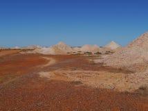 Australian opal mines Stock Photo