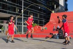 2016 Australian Open - de Straatuitvoerders van Melbourne Royalty-vrije Stock Afbeeldingen