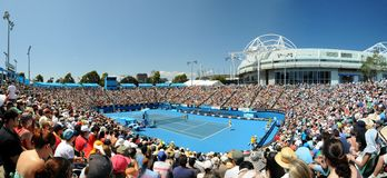 Australian Open Tennis. 2011 in Melbourne Stock Images