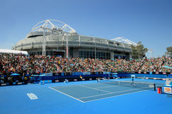 Australian Open Tennis. 2011 in Melbourne Stock Photos